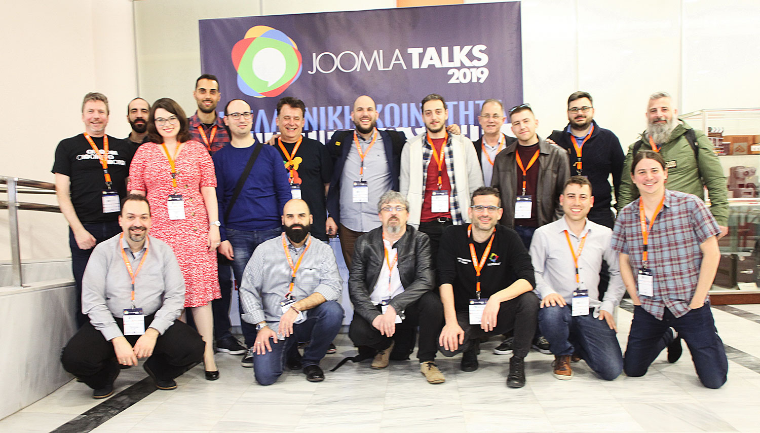 Joomla Greek Community Joomla Talks 2019